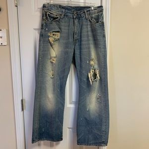 Abercrombie & Fitch Denim Distressed Jeans 32/30